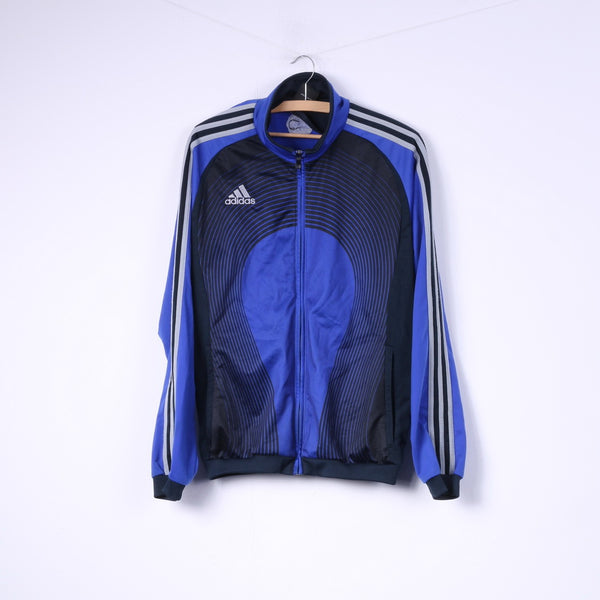 Adidas Mens 38/40 M Sweatshirt Full Zipper Sportswear Top Jumper