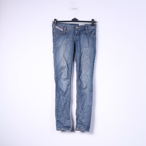 Diesel Kid Grils 12 Age Trousers Cotton Blue Matic J Wash 00YUQ Denim Jeans