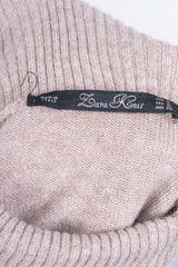 Zara Knit Women's S Jumper Beige Turtle Neck Italy Soft Sweater - RetrospectClothes