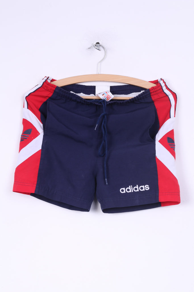 Adidas Boys 12 Age 152cm Short Pants Sportswear Navy Gym Training