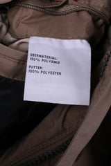 Klepper Mens 52 XL Jacket Khaki Full Zipper Nylon Waterproof 05/2008 Top