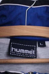 Hummel Mens L Jacket Lightweight Beuchel und Partner Full Zipper Blue TuS Westfalia Hombruch Sportswear Top