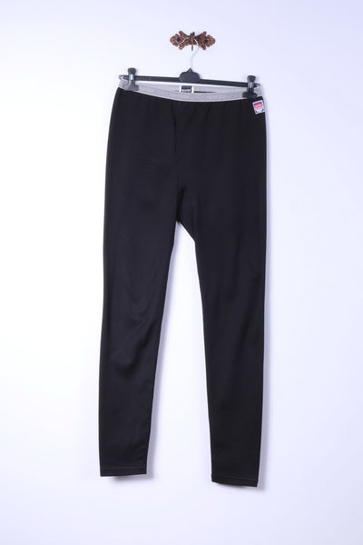 Sportful Mens 52 XL Under Trousers Black Basic Long Underwear Long Pants