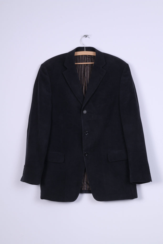 "Douglas ""the business"" Mens 40 M Jacket Corduroy Single Breasted Blazer"