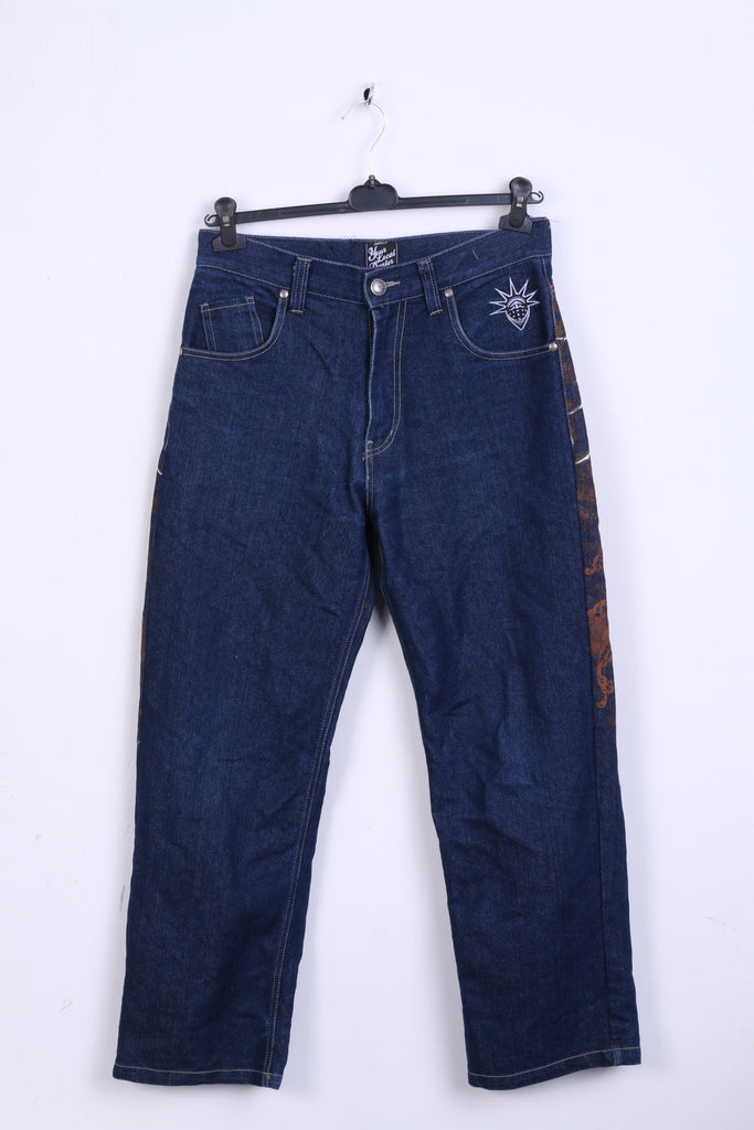 Your Local Dealer Mens W30 Trousers Jeans Denim YLD Ornaments
