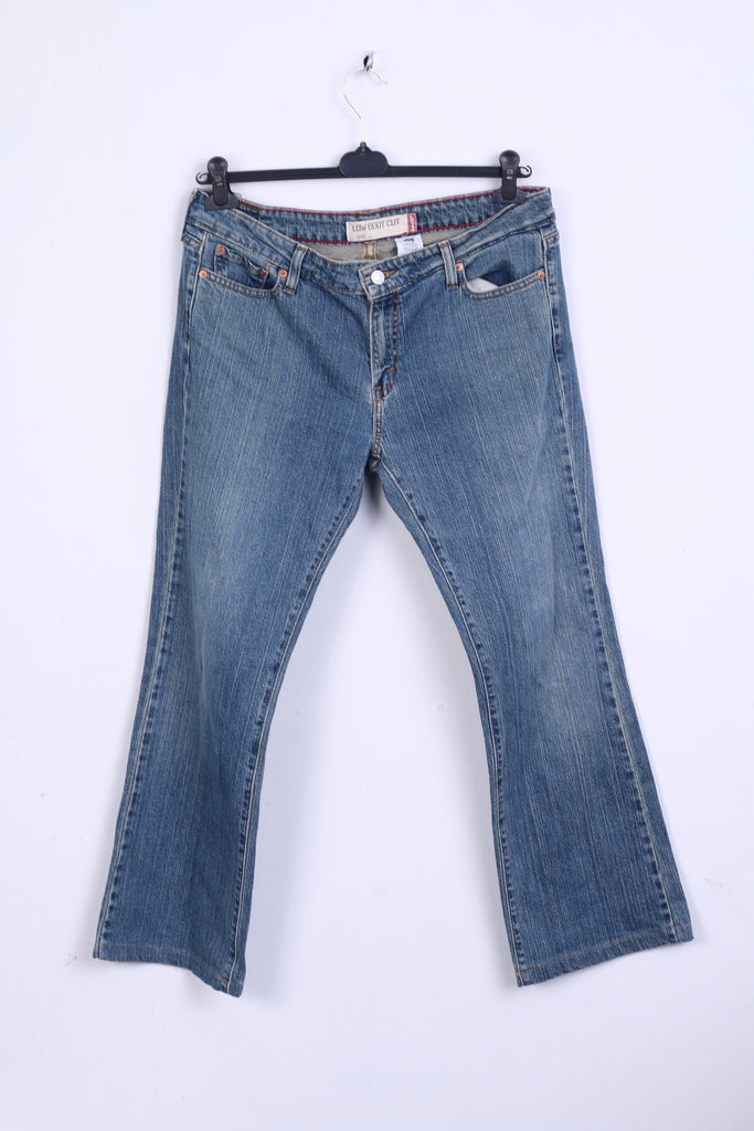 Levi Strauss&Co Womens XL Trousers Denim Jeans Low Boot Cut 545
