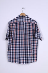 Paul R. Smith Mens XL Casual Shirt Cotton Checkered Vintage Classic Outdoor