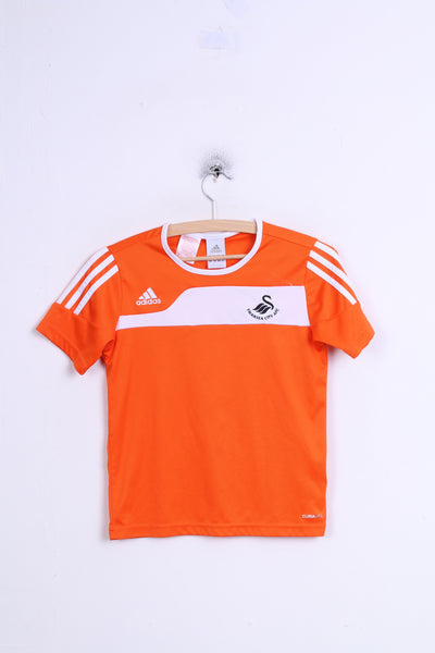 Adidas Swansea City AFC Womens XXS Shirt Orange Football Club Sport jack 7