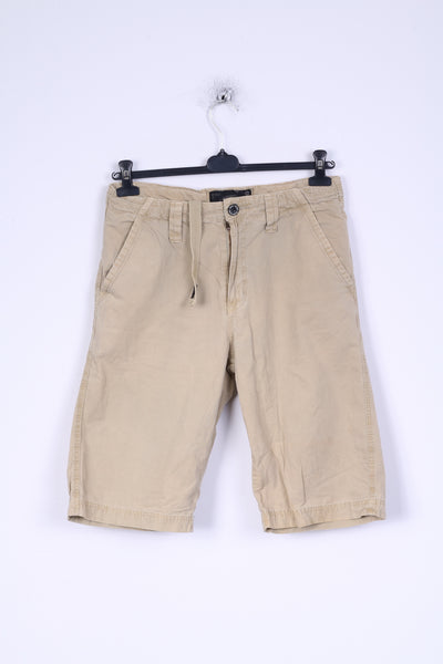 Surf Worx Mens 30 M Shorts Camel Japan Cotton Bermudas SWX