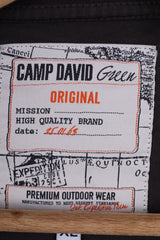 Camp David Mens XL T-Shirt Brown Outdoor Wear Cotton Graphic Top