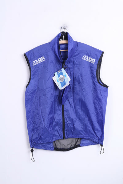 New AXON Mens XL Vest Cycling Waterproof Breathable Hood Cross-Country Equipment - RetrospectClothes