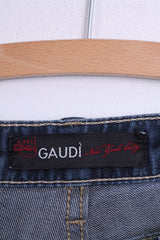 Gaudi Womens Trousers W29 Denim Navy Cotton Backstage Class - RetrospectClothes