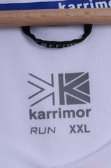 Karrimor Mens XXL T-Shirt  Running White Sport Breathable