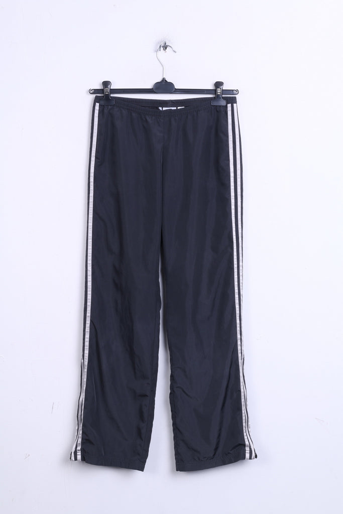 Adidas Womens 10 M Trousers Grey Track Bottom Pants Sport - RetrospectClothes