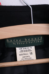 Harve Benard by Benard Holtzman Womens 16 XXL Blazer Jacket Single Breasted Wool
