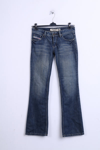 Diesel Industry Womens Trousers 28 Jeans Denim Blue Cotton Italy - RetrospectClothes