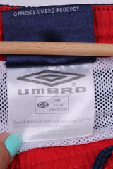 Umbro Boys 22/24'' MB M Shorts Navy Sportswear Training Mesh Lined