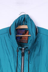 Absolute Rain Protection by Elho Mens L Lightweight Jacket Green Hidden Hood Top