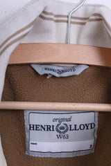 Henri Lloyd W63 Womens 3 M Jacket Ecru Cotton Nylon Winter Padded - RetrospectClothes