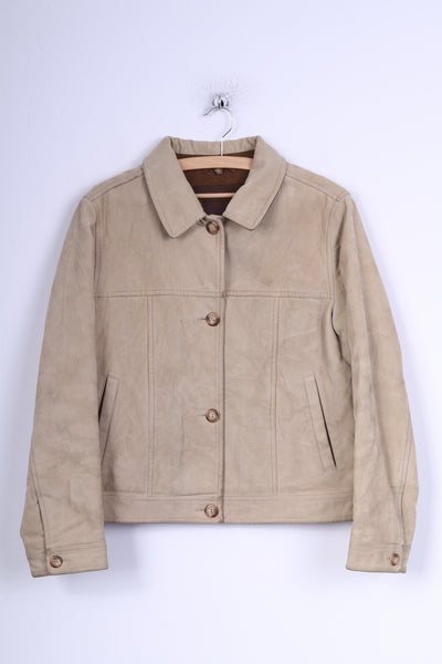 Ploumanac'h Women's 8 S Jacket Beige Cotton Bretagne