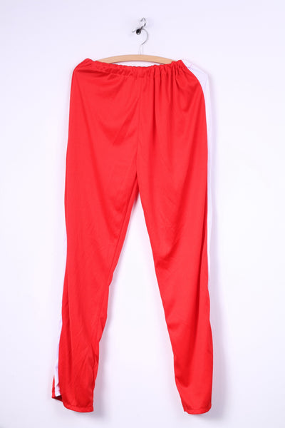 Wicked Costumes Womens Plus Size (L) Trousers Sports Pants Sweatpants Bottoms Sport Red