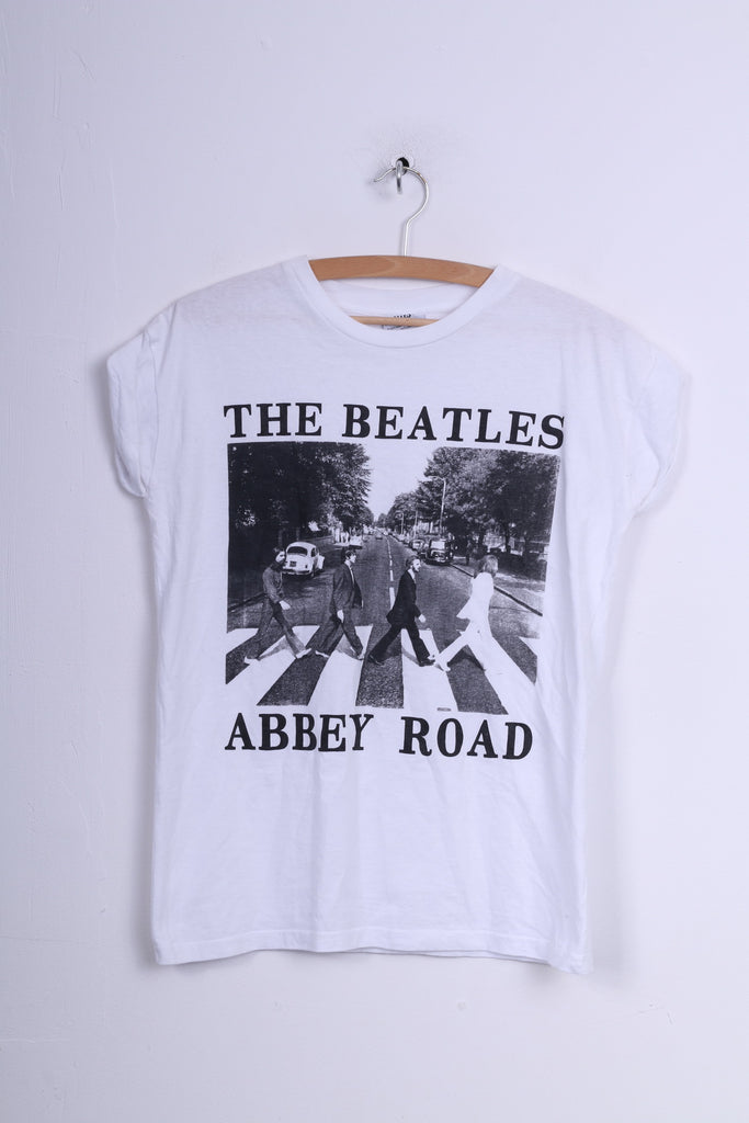 The Beatles Womens 8 S Graphic Shirt Abbey Road Music Band