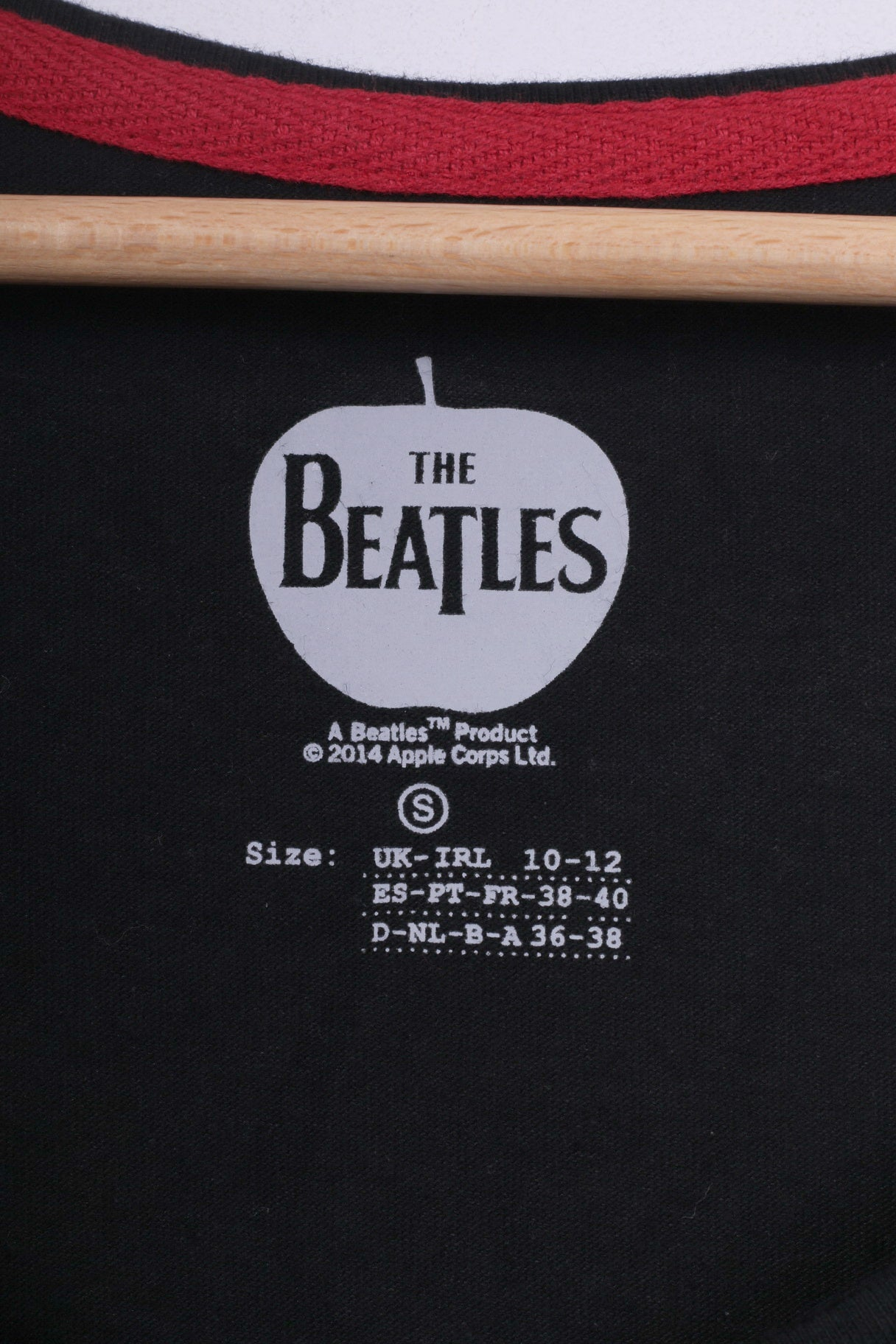 775ed29ee20020 ... Primark The Beatles Womens 10 12 M Shirt Tank Top Graphic Cotton Black  A Hard ...