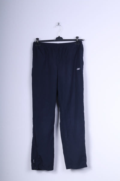 Reebok Womens S Trousers Navy Sport Sweatpants Gym Pants