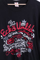 Ecko Unltd. Mens L T-Shirt Black Cotton Urban Clothing