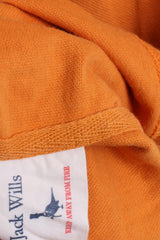 Jack Willis Mens XS Polo Shirt Orange Cotton University Oufitters