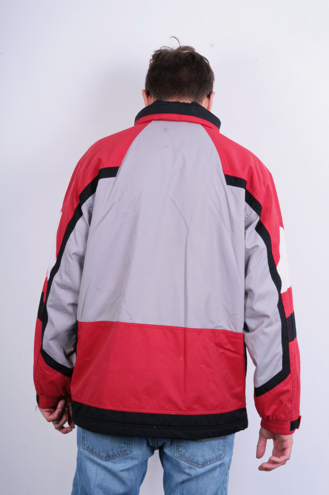 8dd30482c ... Etirel Le Style Sportif Mens M/L Winter Jacket Parka Padded Retractable  Hood Red -