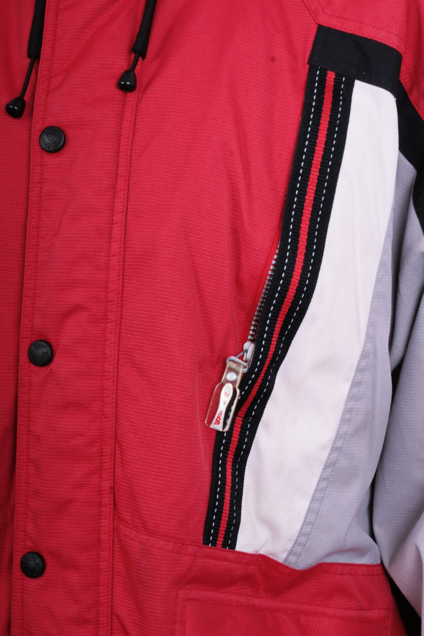 ddba6d63d ... Etirel Le Style Sportif Mens M/L Winter Jacket Parka Padded Retractable  Hood Red ...