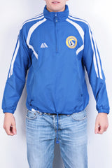 Pendle Mens 38/40 L Football Jacket Retractable Hood Hillfield Swifts F.C. - RetrospectClothes