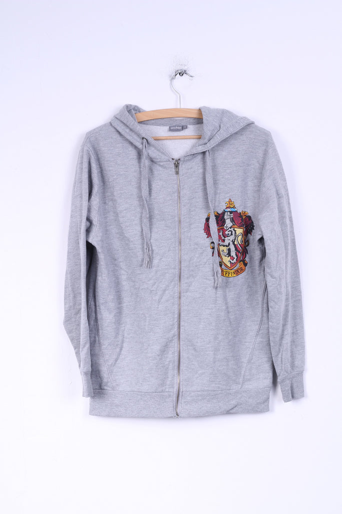 Atmosphere Harry Potter Womens 12 L Sweatshirt Grey Hood Jumper Cotton