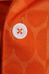 Adidas Mens M Polo Shirt Orange Sport Training - RetrospectClothes