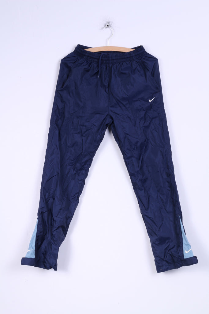 Nike Boys L 152- 158 Trousers Bottom Tracksuit Navy Pants Sport