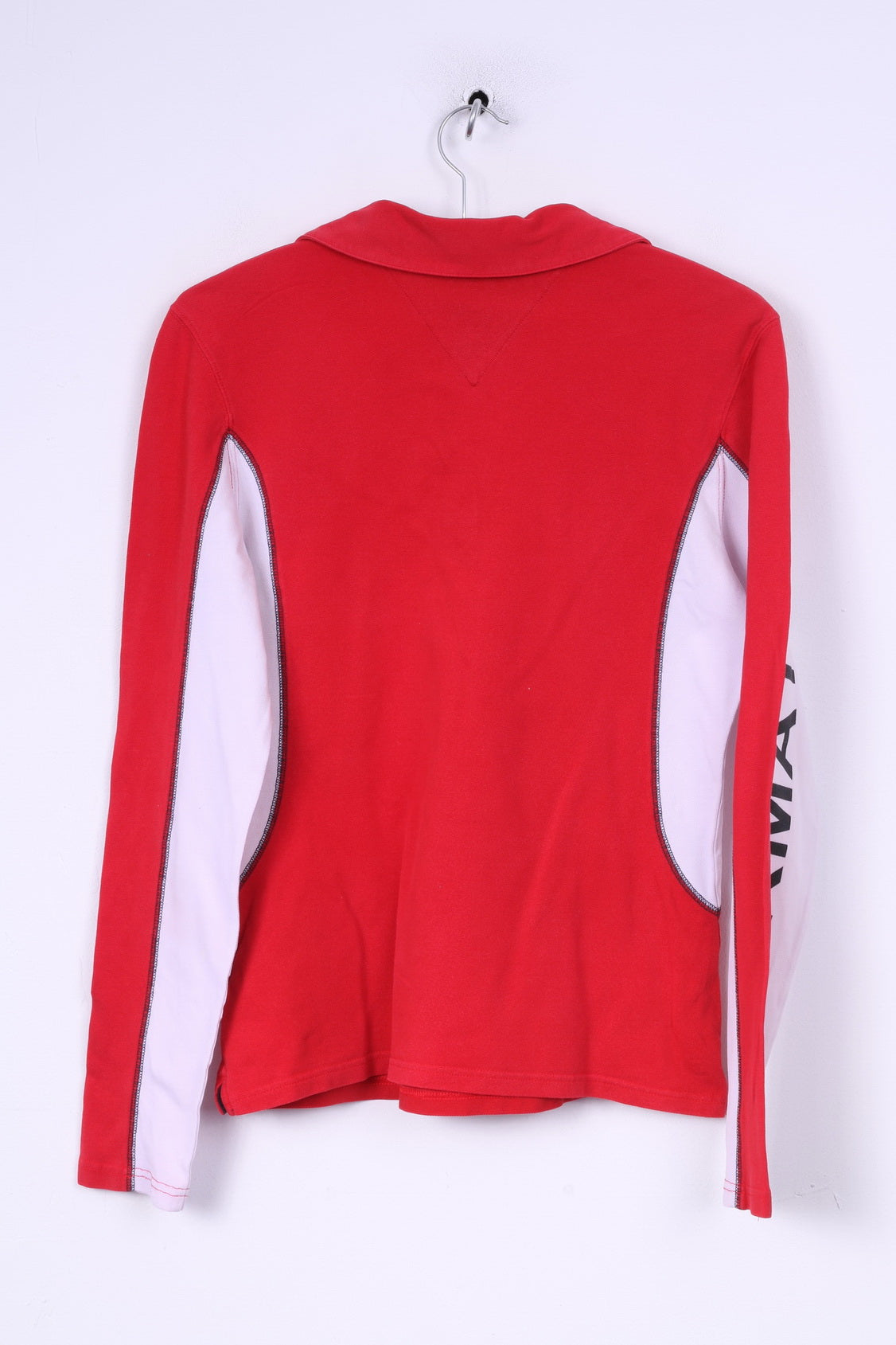 cb954f3cc ... Tommy Hilfiger Womens 40 L Polo Shirt Long Sleeve Red Cotton Best Of  The Alps