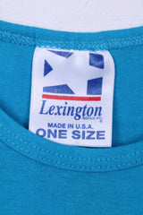 Lexington fabrics inc. Womens One Size Dress Key Largo Cotton Sleeveless Blue