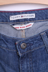 Tommy Hilfiger Womens 2R Jeans Trousers Low Rise Boot Cotton - RetrospectClothes