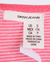 DKNY Jeans Womens S Shirt Sleeveless Collar Cotton Top Jersey - RetrospectClothes