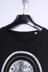 Stella Stanley Womens S T-Shirt Black Organic Cotton The Retired Rock Top