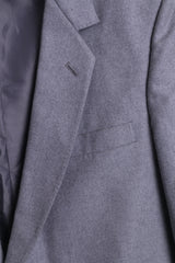 "Anderson of London Mens 42"" Blazer Top Suit Grey Single Breasted - RetrospectClothes"
