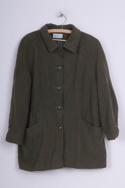 Honor Millburn Womens 20 XXL Jacket Single Breasted Dark Green Vintage