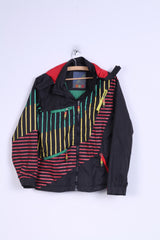 H@C by CDRL Boys S 152 Jacket Black Striped Hooded Top