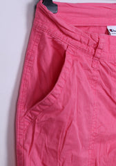 Champion Womens M Casual Shorts Pink Cotton