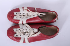 Puma Mens 6 Modell Waizer Shoes Red Italy Red Vintage Retro
