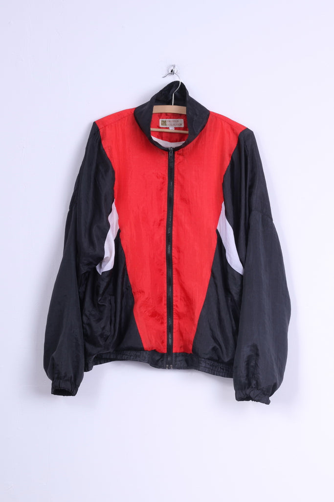 Prosper Collection Mens M Jacket Red Active Wear Vintage Lightweight Top