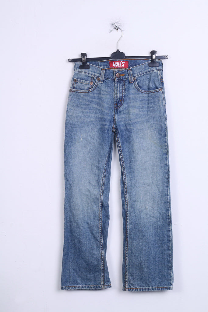 Levis 527 Womens Trousers L26 W26.5 Denim Jeans Cotton Regular Boot Cut - RetrospectClothes