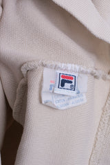 Fila Womens XS/S Polo Shirt Sport Beige Training Cotton Top - RetrospectClothes