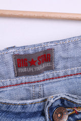 Big Star Jerry Mens W34 L30 Jeans Trousers Blue Cotton - RetrospectClothes